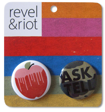 revel and riot ask-tell buttons